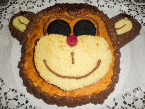 """Motiv-Torte """"Äffchen"""""""