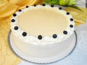 Vanille-Heidelbeer-Torte
