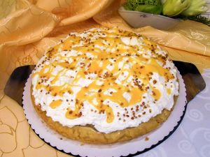 Birne-Eierlikör-Torte